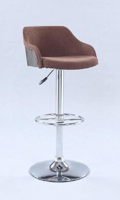 1316-as-brw Pneumatic Rolling Back Adjustable Stool In
