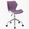 RTA-3236-PPL Modern Height Adjustable Office Task Chair. Color