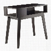 "Thompson Collection 92431 34"" Console Table with Open Shelf and Angular Legs in"