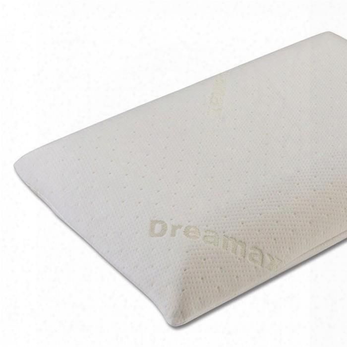 Hosta Ii Dm-662-5pk Memory Foam Classical Pillow (5/ctn) With Foam: 1/3 Memory Foam Layer With Shredded Foam Fabric: 180g 100% Polyester White Fabric In