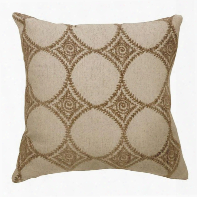 """Riya Pl682s-2pk 18"""" X 18"""" Pillow With Polyester S: 18"""" X 18"""" L: 22"""" X22"""" Made In China 2 Pc/ctn In"""