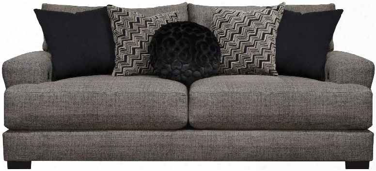 """Ava Collection 4498-13 1796-48/2870-48 90"""" Sofa With Reversible Seat Cushions Recessed Track Arms Chenille Fabric Upholstery And Usb Port In"""