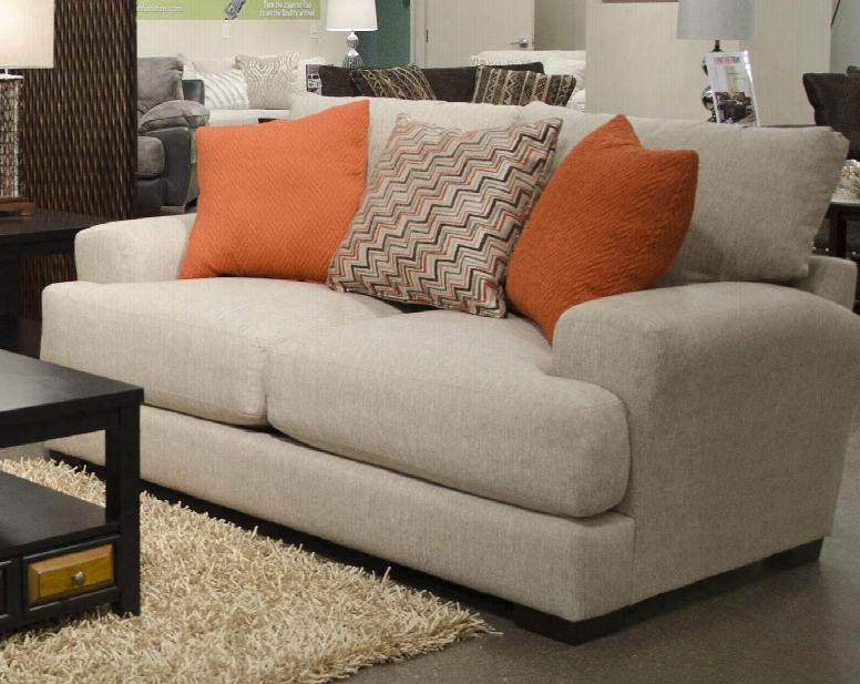 """Ava Collection 4498-26 1796-48/2870-48 77"""" Loveseat With Reversible Seat Cushions Recessed Track Arms Chenille Fabric Upholstery And Usb Port In"""