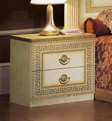 """Aida Collectiln I420 22"""" Nightstand In Ivory And"""