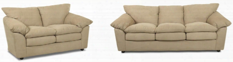 Heights Collection E13kl2pcfstlkit1 2-piece Living Room Sets With Sofa Beds And Loveseat In Libre