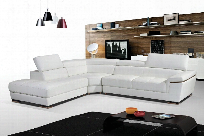 "I17278 102.5-123.5"" 2383 Sectional With Left Chase And Leather In"