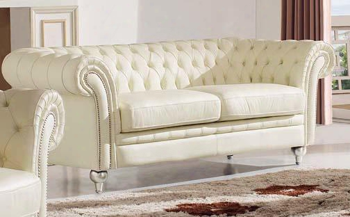 """I17685 81"""" 287 3-seat Sofa With Leather In"""