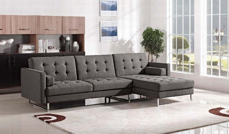 """I17725 115/63"""" 1471 Sectional With Right Chaise In"""