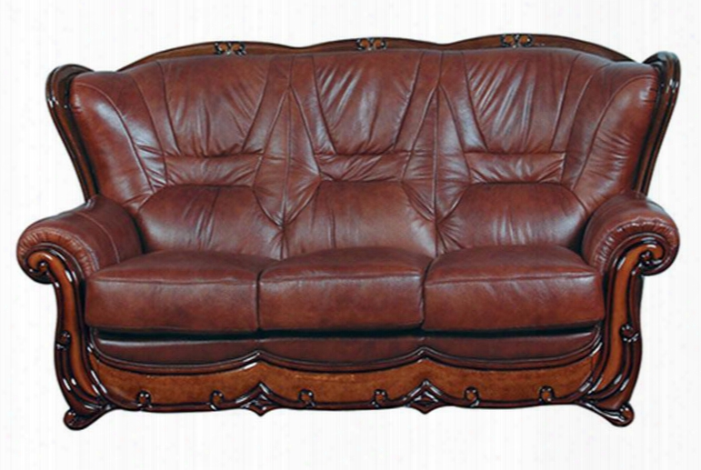 "I6316 80"" 100 Sofa With Leath Er In"