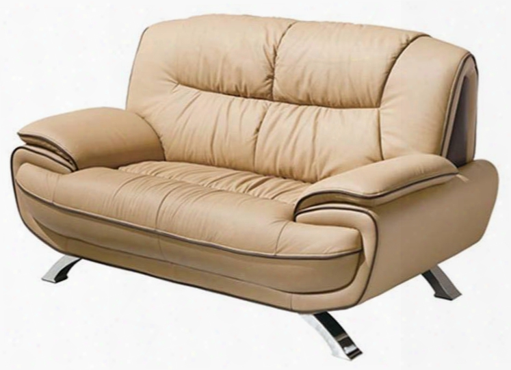 """I901 64"""" 405 Loveseat 1.587/9155 With Leather In"""