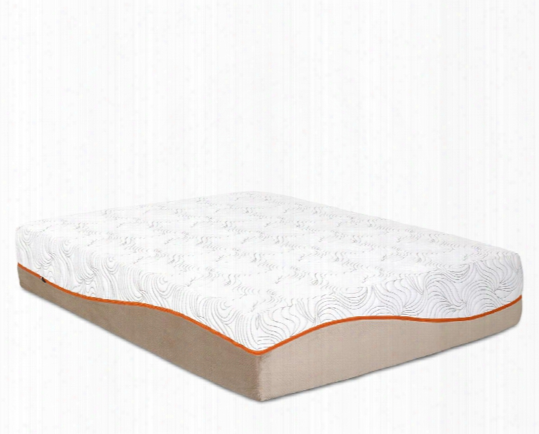 """Picasso Collectin Picassotxl-tmat 13"""" Twin Extra Long Mattress With Removable Tencel Zip Cover 3"""" Puregel Plus Gel Memory Foam And 7"""" Comfort Support"""