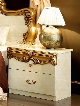 """Barocco Collection i3849 23"""" Set of 2 Nightstands in"""