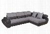 "Talia Collection i17282 75-116"" Right Arm Facing Sectional with Bed in"