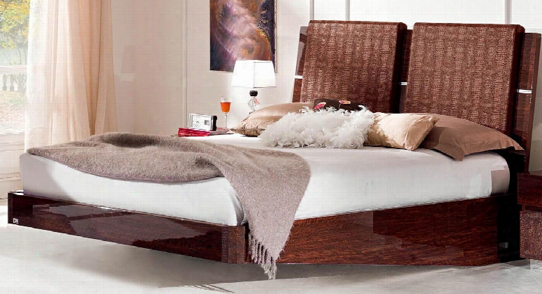 """Status Caprice Collection I5830 89"""" Queen Size Bed In"""
