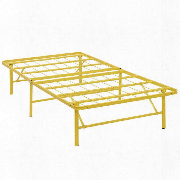 Mod-5427-ylw Horizon Tin Stainless Steel Bed Frame In