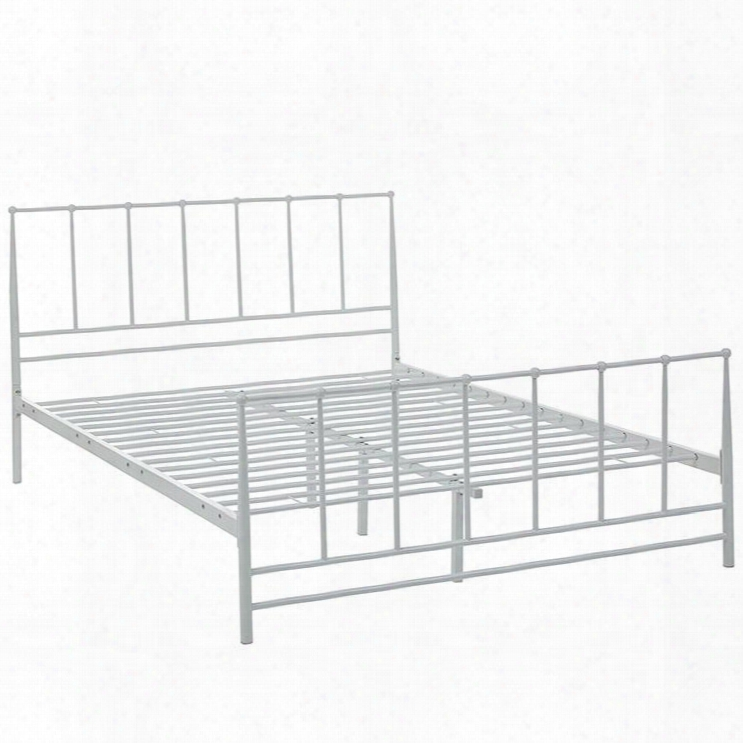 Mod-5482-whi Estate Queen Bed In