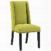 EEI-2233-WHE Baron Fabric Dining Chair in