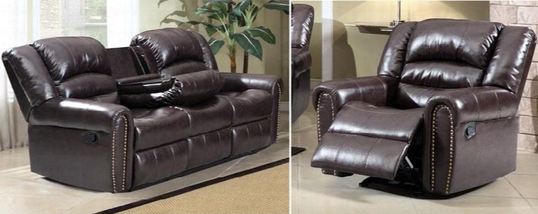 Chelesa 684-s-c 2 Piece Living Room Set With Sofa And Chair In