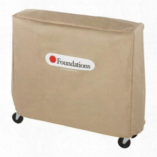 """Crib Saver Collection 95nnt1 52"""" Crib Cover Fitts Pinnacle Full-size In Folded Position And Most Other Brands In Tan"""