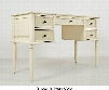 """Avignon Youth 1619-656364KT 52"""" Twin Panel Bed Complete with Double Dresser Mirror Chest Drawer Desk and Step Up and Door Nightstand in Birch"""
