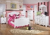 Exquisite Full Bedroom Set with Sleigh Bed Dresser Mirror 2 Nightstands and Chest in