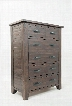 """Jackson Lodge Youth 1605-30 48"""" 5 Drawer Chest Tasteful Distressing and Subtle Finish Variations and Full Extension"""