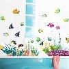 Lovely Cartoon Seaworld Wall Sticker for Baby&Kids