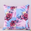 Multi-Color Roses Blooming Decorative Square Polyester Throw Pillowcases