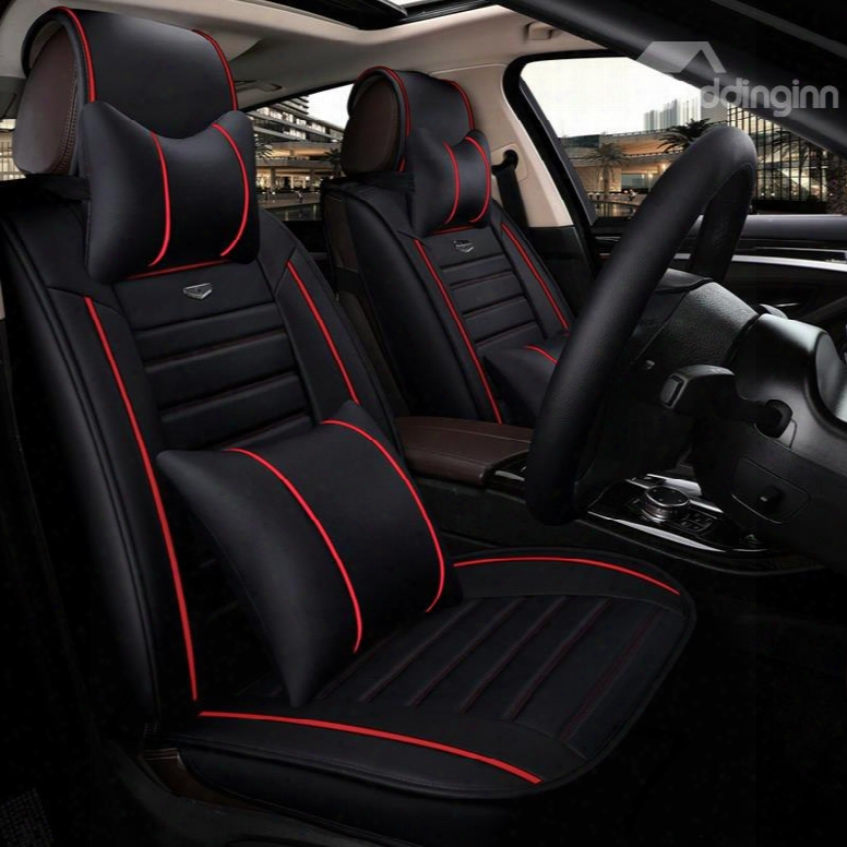 Distinctive Superb Professional Design Leather Universal Car Seat Cover