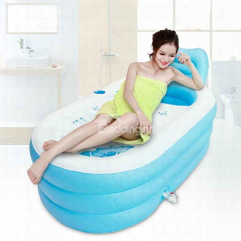 Portable Adult Pvc Inflatable Bathtub With Air Pump