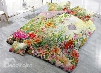 3D Spring Floral Garden Cotton 4-Piece Bedding Sets/Duvet Cover