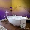 Fancy Design Dandelions Pattern Waterproof Decorative 3D Bathroom Wall Murals
