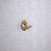 Antique Golden Brass Wall-mounted Robe Hook