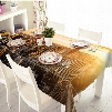 Modern Fashion Sunlight City Scenery Pattern 3D Tablecloth