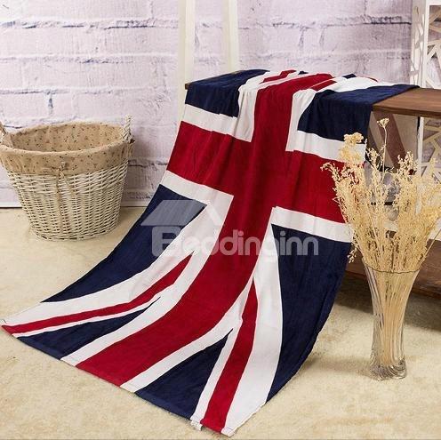 Creative Fashion Union Jack Pattern Bath Towel