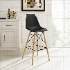 Pyramid Bar Stool in Black