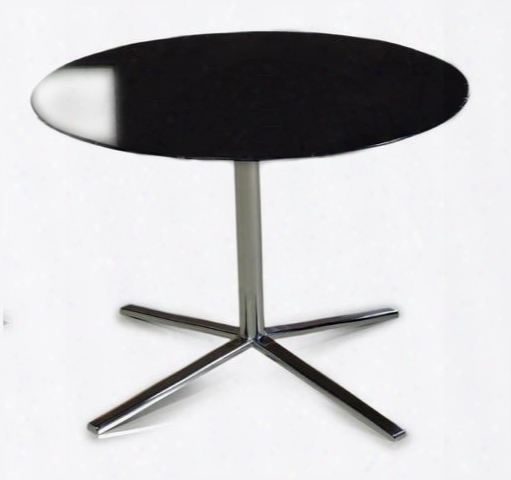 T48 Black End Table