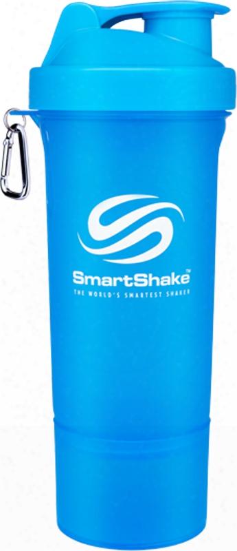 Smartshake Smartshake Slim - 17oz. Neon Blue