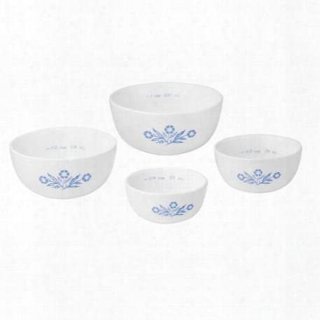 60th Anniversary Cornflower 4-pc Measuring Bowl Contrive