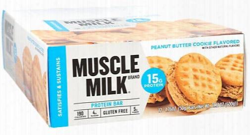 Cytosport Muscle Milk Blue Bar - Box Of 12 Lemon Bliss