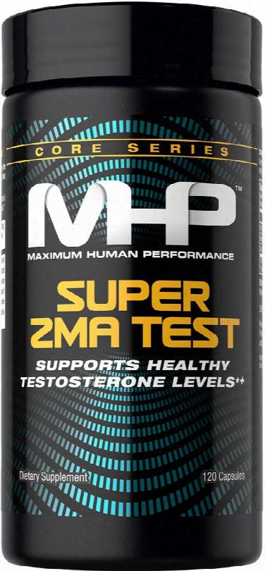 Mhp Super Zma Test - 120 Capsules