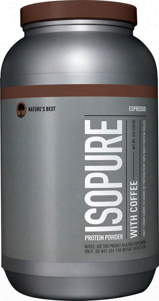 Nature's Best Isopure Coffee - 3lbs Espresso
