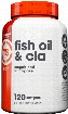 Top Secret Nutrition Fish Oil & CLA w/ Lipase - 120 Softgels