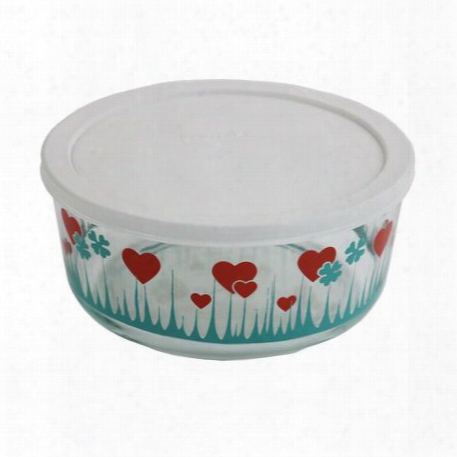 Simply Storeã'â® 1 Cup Lucky In Love Storage Dish W/ Lid
