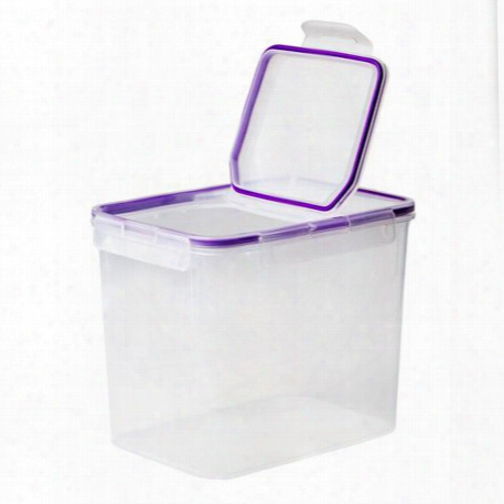 Airtight Food Storage 17 Cup Rectangular Container W/ Fliptop Lid