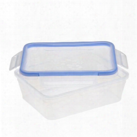 Total Solutionã¢â�žâ¢ Plastic Food Storage 8.39 Cup, Rectangle