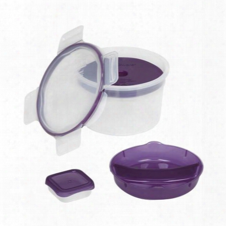 Total Solutionã¢â�žâ¢ To-go 6-pc Purple Salad Kit