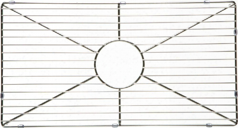 Abgr3018-old Kitchen Sink Grid With Stainless Steel And Durable Plastic Feet In Stainless