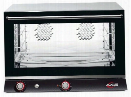 Ax824h Full Size Convection Oven With Humidity Manual Controls 4 Shelves Full Size Pans Up To 510 Degrees F 0-120 Minute Timer In
