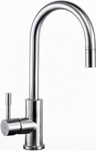 Li-uk-t700 Limena Single Lever Pull-out Kitchen Faucet With A Deluxestainless Steel Soap Dispenser In A Satin